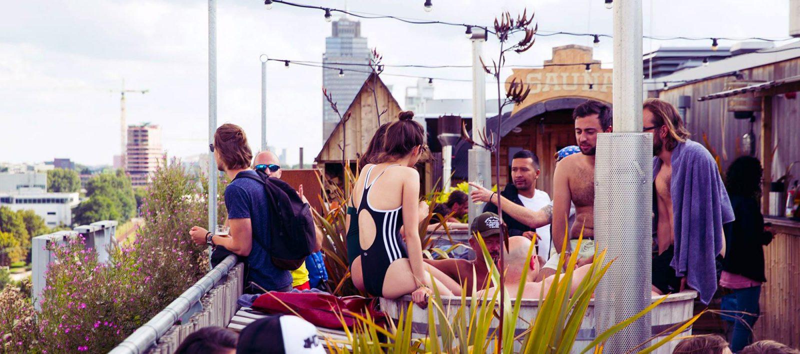 ROEF Rooftop Festival Amsterdam Volkshotel