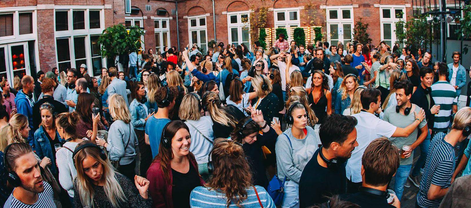 ROEF Rooftop Festival Amsterdam Vondel Disco