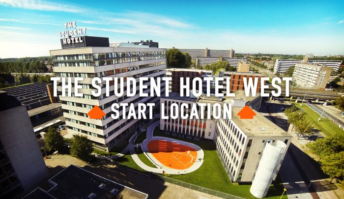 ROEF Rooftop Festival Amsterdam // The Student Hotel West